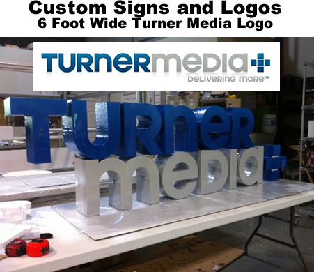 Custom Foam Prop Display Letters, Numbers and logos made to order