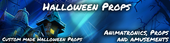 Halloween foam Props Displays and decorations