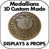 Medallions 3D Custom Made