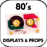 80's Cardboard Cutout