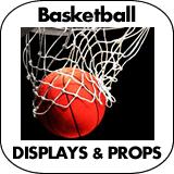 Basketball Cardboard Cutout Standup Props