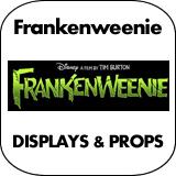 Frankenweenie Cardboard Cutout Standup Props
