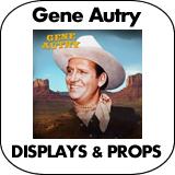 Gene Autry Cardboard Cutout Standup Props