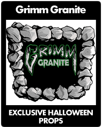 Grimm Granite  - Exclusive Halloween Props