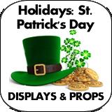 Holidays: St. Patrick's Day Cardboard Cutouts