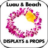 Luau & Beach Cardboard Cutout