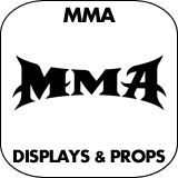MMA Cardboard Cutout Standup Props