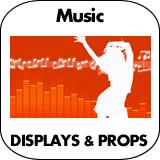 Music Cardboard Cutouts