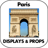 Paris Cardboard Cutouts