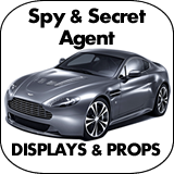 Spy & Secret Agent Cardboard Cutouts