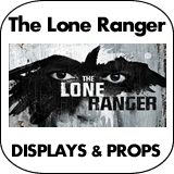 The Lone Ranger Cardboard Cutout Standup Props