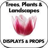 Trees, Plants & Landscape Cardboard Cutouts