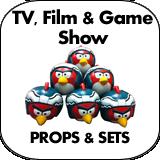 TV, Film, & Game Show Props & Sets