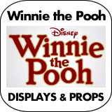 Winnie the Pooh Cardboard Cutout Standup Props