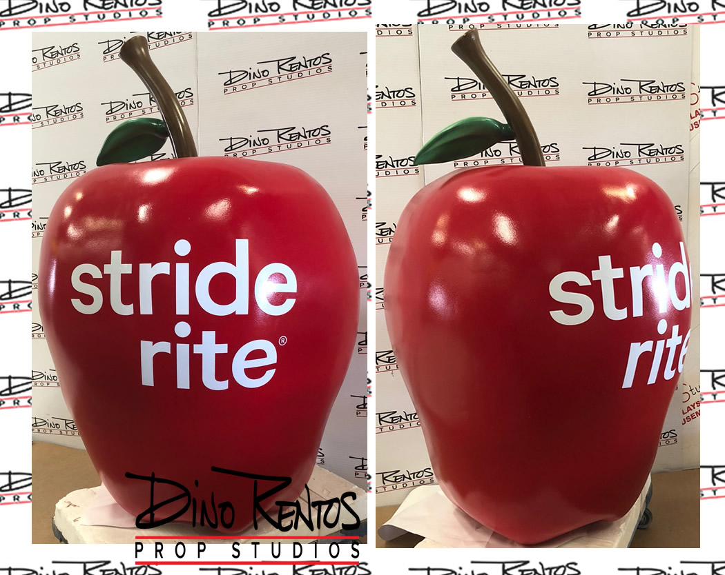 Large Scenic Foam Apple Fruit Prop for tradeshows and events