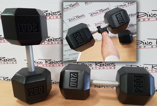 Foam Dumbbell Prop