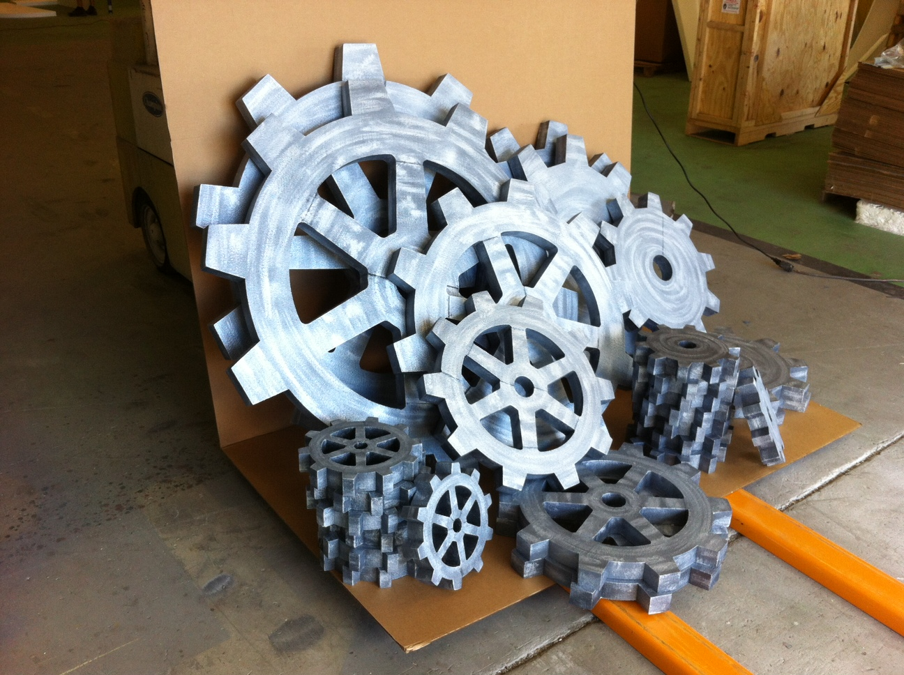 Giant Large Gear Foam Props