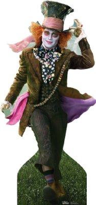 Mad Hatter - Alice in Wonderland Cardboard Cutout Standup Prop