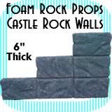 Castle Wall Rocks - Rock Wall - 6 Rocks
