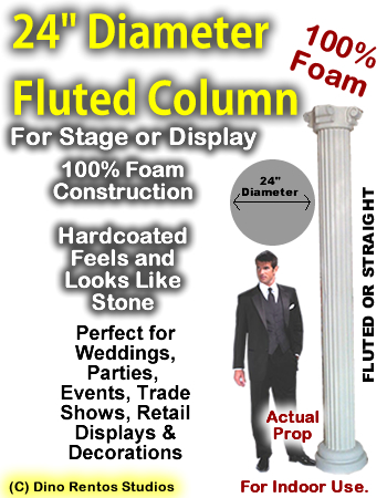"Foam Column Prop 24"" Diameter"
