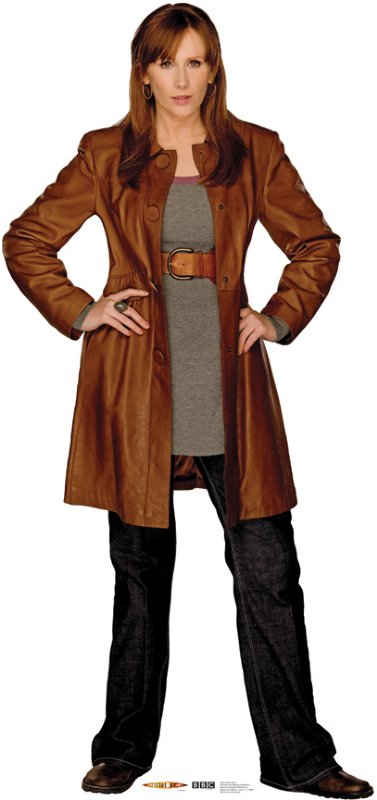 Donna Noble - Doctor Who Cardboard Cutout Standup Prop