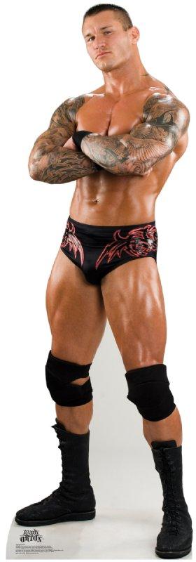 Randy Orton 3 - WWE Cardboard Cutout Standup Prop