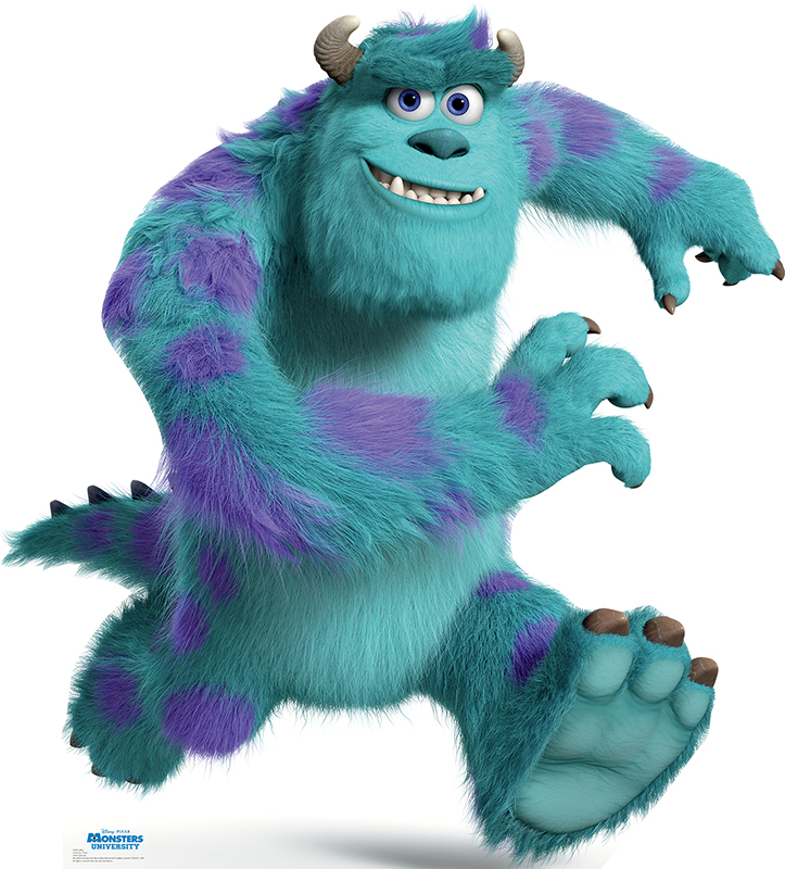 Sulley - Monsters University Cardboard Cutout Standup Prop
