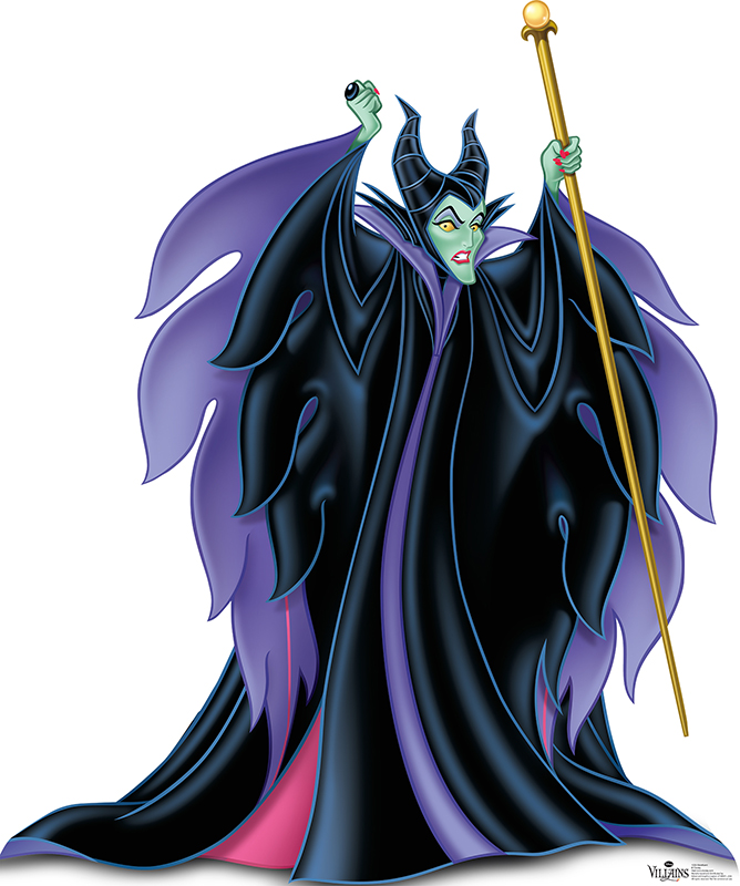 Maleficent - Disney Villain Cardboard Cutout Standup Prop