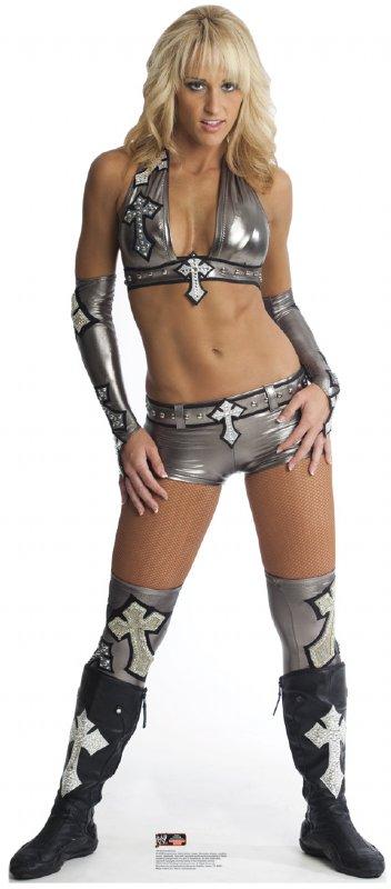 Michelle McCool - WWE Cardboard Cutout Standup Prop