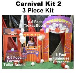 Carnival Kit 2 Cardboard Cutout Prop