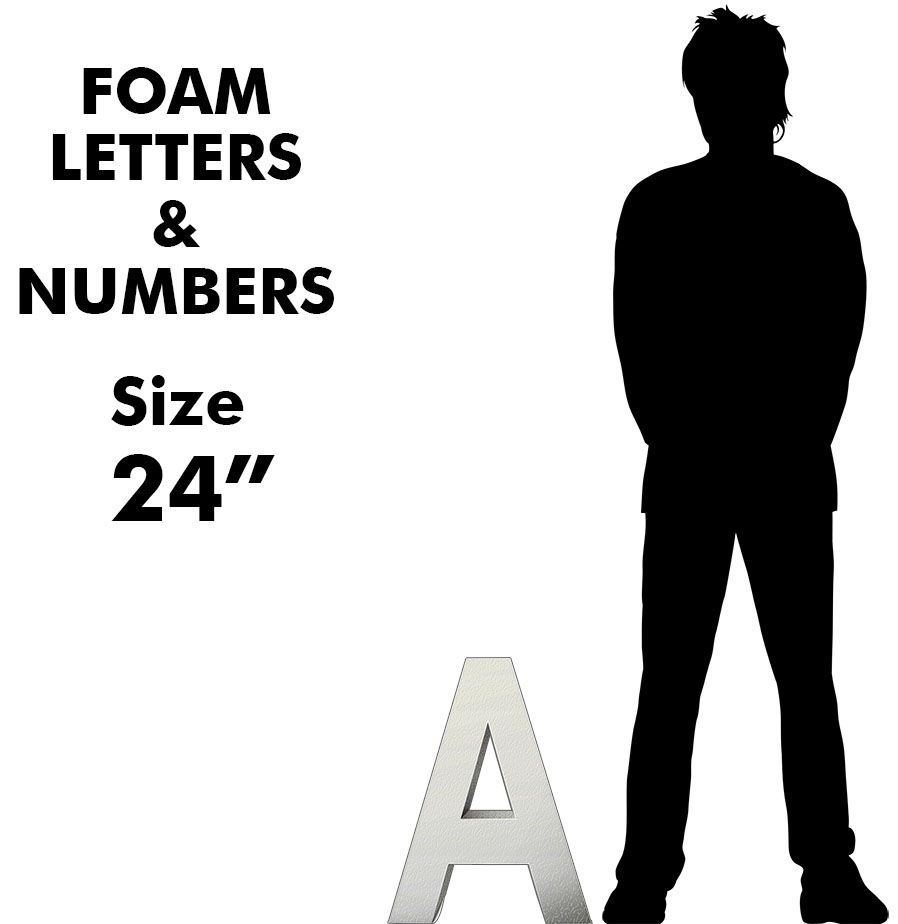 Letters & Numbers 24""