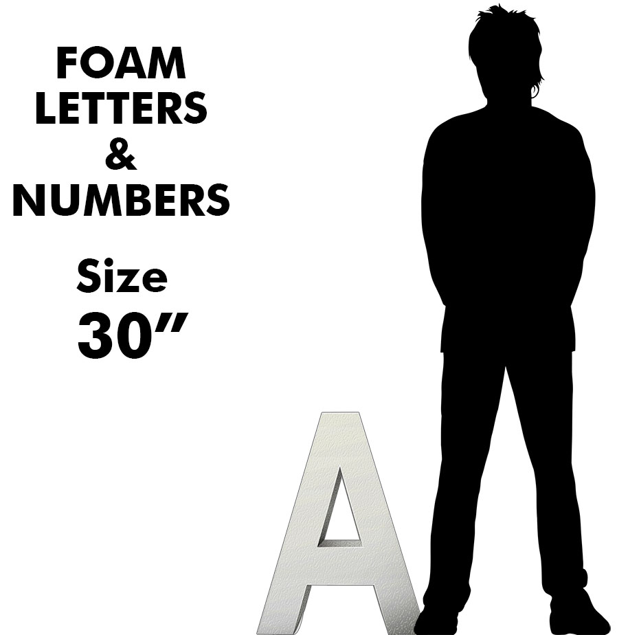 """Letters & Numbers 30"""""""