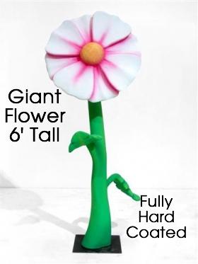 Giant Flower Foam Prop