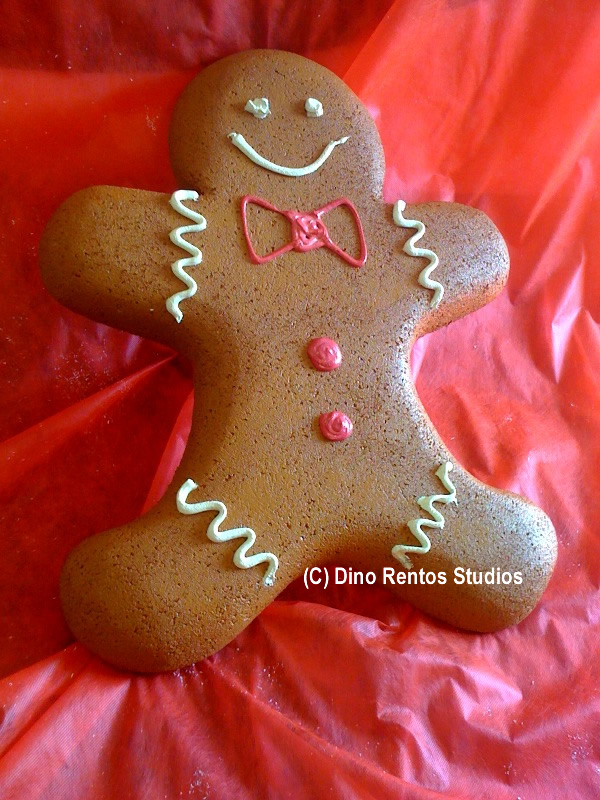 Giant Gingerbread Man Foam Prop - 36 Inches