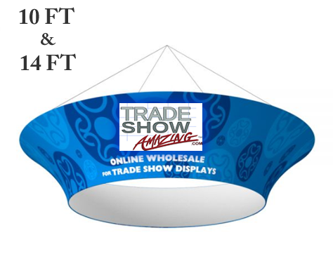 Hanging Banner Tapered Circle Shape(Style D)