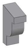 M25 - Architectural Foam Shape - Molding