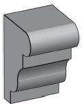 M30 - Architectural Foam Shape - Molding