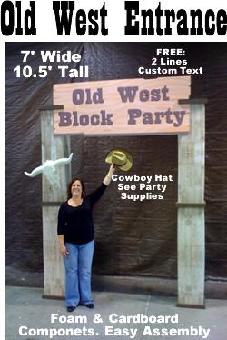 Old West Entrance Theme Kit