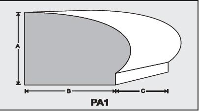 PA1 - Architectural Foam Shape - Parapets & Caps