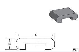 W6 - Architectural Foam Shape - Wall Cap