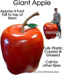 3 Foot Apple Foam Prop