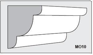 M010 - Architectural Foam Shape - Molding
