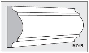 M015 - Architectural Foam Shape - Molding