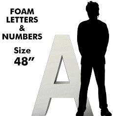 Letters & Numbers 48""