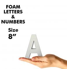 Letters & Numbers 8""