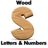 Wood Letters - Custom - Any Size
