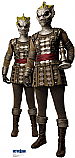 Silurians - Doctor Who Cardboard Cutout Standup Prop