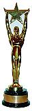 Star Award Cardboard Cutout Standup Prop