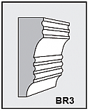BR3 - Architectural Foam Shape - Bracket