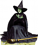 The Wicked Witch of the West Melting - The Wizard of Oz Cardboard Cutout Standup Prop